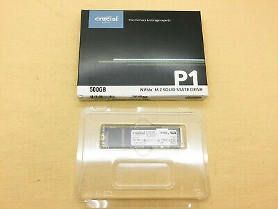 New open Crucial P1 500GB 3D NAND NVMe PCIe M.2 SSD CT500P1SSD8