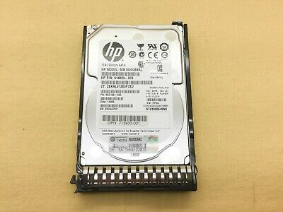 0-Hours 655710-B21 614829-003 HP 1TB 6G SATA 7.2K HDD w// Blank Tray* New Other *