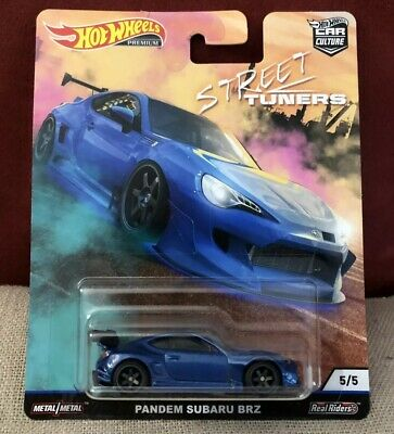 2019 Hot Wheels Car Culture PANDEM SUBARU BRZ - Blue - Street Tuners 1/64