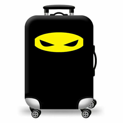 Travel Luggage Protector Dustproof Cover  Elastic Protection Suitcase Black AU