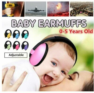 Baby Noise Reduction Headphones Kids Ear Muffs Loud Protection Hearing Safety AU