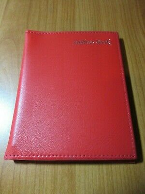 SOHO Red Cover Address Book A-Z indexed shelf stock clearance line pocket size