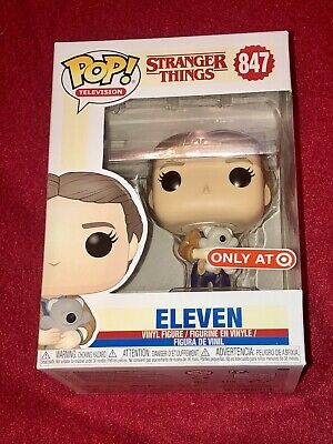 Eleven Funko Pop Stranger Things Target Exclusive #847 w/ Clear Protector