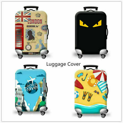 """18""""-32""""Inch Travel Luggage Protector Cover Elastic Suitcase Protection Bags AU"""