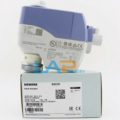 1PCS NEW FOR SIEMENS Electric Value Actuator SSC61 AC24V DC0...10V
