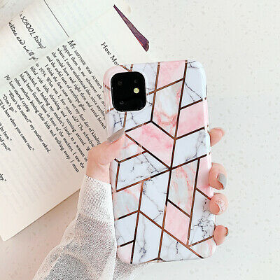 Marble Shockproof Silicone Protective Case Cover For iPhone XS Max XR 8 7 Plus 6
