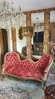 Antique chaise lounge for revovering