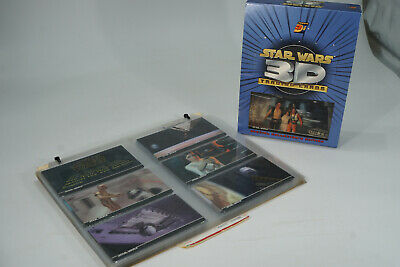 Topps Star Wars 3D Trading Cards Komplettsatz 1-63 + extra cards + display