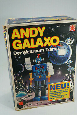 vintage Bandai Japan Space Toy - Andy Galaxo - Roboter in original Box