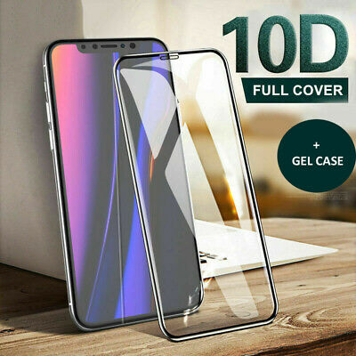 Screen Protector for iPhone 11, 11 Pro Max 9H Curved FULL COVER TEMPERED GLASS