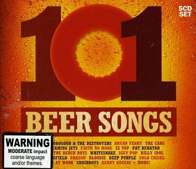Various Artists - 101 Beer Songs - Various Artists CD 52VG The Cheap Fast Free