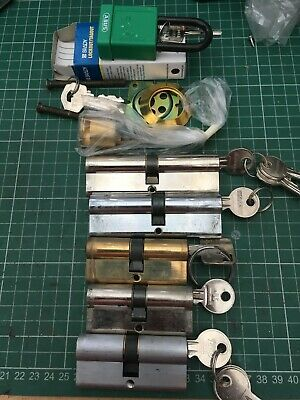 Used pin cylinder locks, ideal for locksmith practice