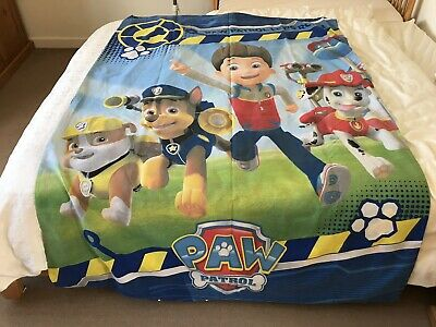 Paw Patrol Single Duvet Set With Pillowcase Excellent Condition