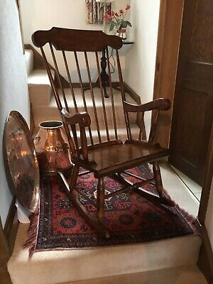 Stick Backed Windsor Rocking Chair.