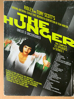 The Hunger Temporada 1 DVD Caja Set Ridley Tony Scott Vampiro Horror Serie de TV