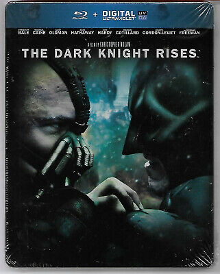 BATMAN - The Dark Knight Rises / Blu-Ray Steelbook Neuf sous blister - VF