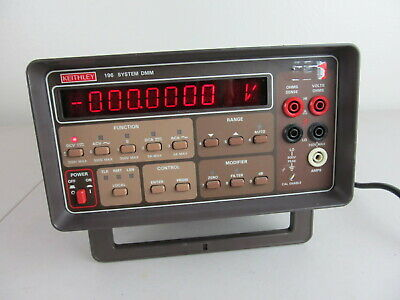 Keithley 196 System Bench Top DMM 6.5 Digit Used Tested, Working