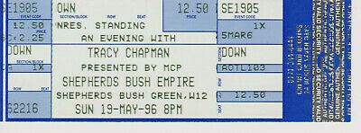 Tracy Chapman - Shepherds Bush Empire, London - Sunday, 19th May 1996