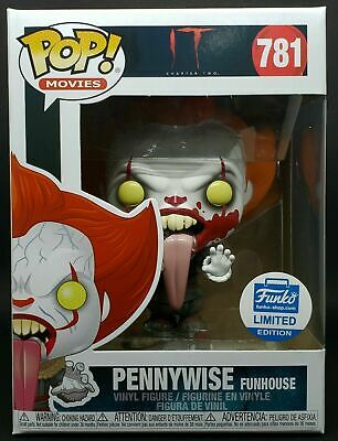 Funko Pop! IT Chapter 2: Blood Splatter Pennywise Funhouse IN HAND