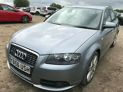 2007 Audi A3 Sportback 2.0 Tdi Quattro S-Line-Auto Nav+Leather Really Rare Model