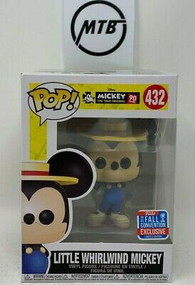 FUNKO POP DISNEY LITTLE WHIRLWIND MICKEY MOUSE 432 NYCC EXCLUSIVE red blue diy