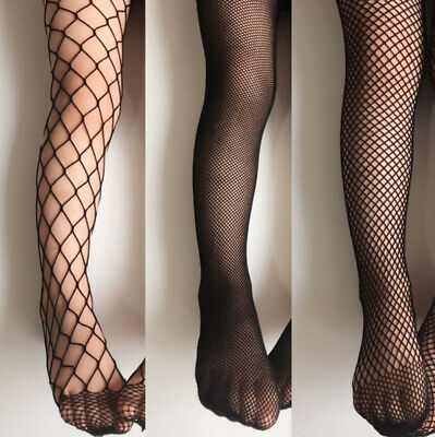 Fashion Baby Kids Mesh Stockings Girls Fishnet Stockings Black Pantyhose Tights/