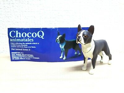 Kaiyodo Takara ChocoQ Pet PAPILLON BROWN dog animal figure choco q