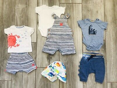 MotherCare Baby Boy 0 - 3 months bundle. Barely Worn. Lovely Items
