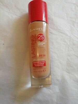 "Rimmel London Lasting Finish 25hr SPF20 30ml In ""201 Classic Beige"" New"