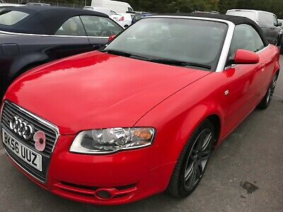 2006/56 Audi A4 Cabriolet 2.0 Tdi S-Line - Leather, Alloys, P/Sens, Stunning