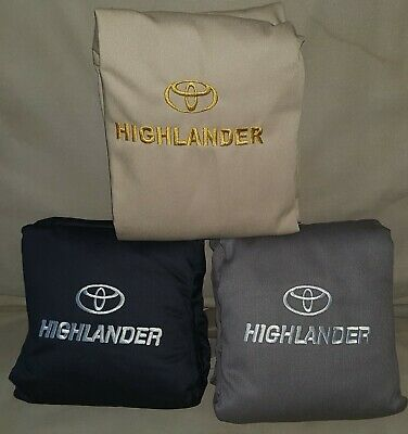 Toyota Highlander 2008-2013 3 Rows Seat Covers Full Set