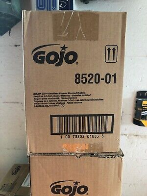 Gojo 8520-01 Touch Free  Automated Soap Dispenser, Counter Mount