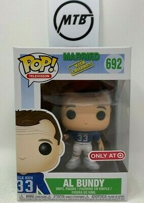 FUNKO POP MARRIED WITH CHILDREN AL BUNDY 692 TARGET EXCLUSIVE kelly peggy bud