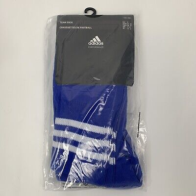 Adidas Football Team Sock AdiSock Blue Size 2 UK 4.5-6 EUR 37-39