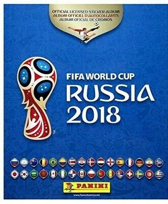 Panini World Cup Russia 2018: Set Of 90 Stickers As Per Listing