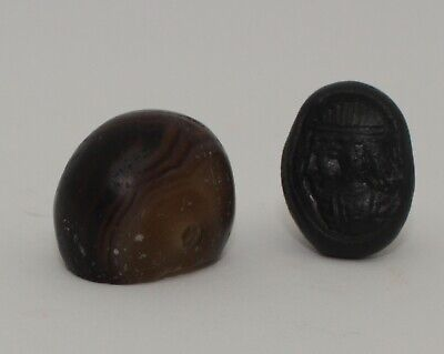 Superb Quality Ancient Carved Agate Seal - Circa 500Bc  - 003