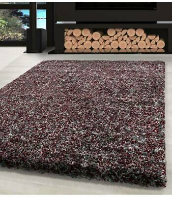 Modern Soft Rug Shaggy Area Rugs High Pile Fluffy Mats Grey Red White Floor Mat