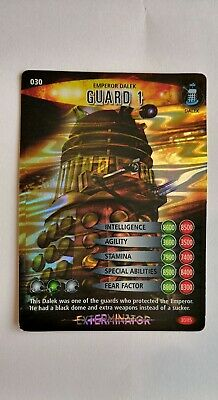 Doctor Who Battles In Time Special  Trading Card Exterminator ( Emperor Dalek)