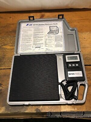 ITE Slimline Electronic Refrigerant Scale 9010A