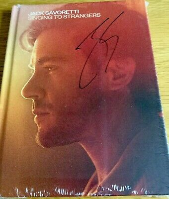 Jack Savoretti Singing To Strangers (Deluxe CD Signed by Jack Savoretti) New