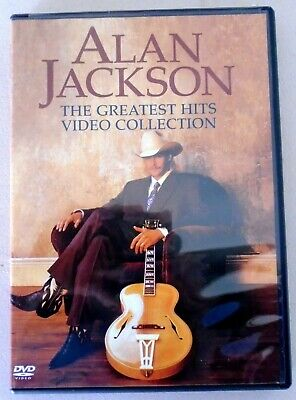 Alan Jackson The Greatest Hits Video Collection Dvd 2004