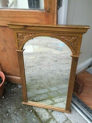 Arts And Crafts Over Mantle Mirror