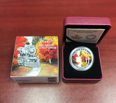 Autumn Express Fine Silver Collector Coin 2015 Royal Canadian Mint