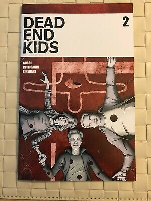 DEAD END KIDS #2 1st Print Sold Out Source Point Press Great Title