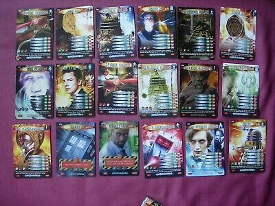 Doctor Who Battles in Time Small collection X62 various cards Toops 2006-08 VGC