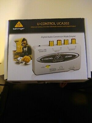 Beringer U Control Uca202 USB Audio Interface With Digital Output