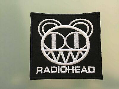 """RADIOHEAD - Embroidered Iron On Patch 3.5"""""""
