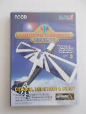 + Flight Software - American Champion Aircraft [Pc Cd-Rom]  [Brand New]