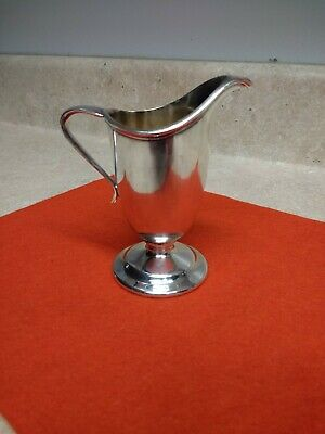 Vintage W.M. Mounts Silverplated Small Cream Pitcher Derby SP Co.