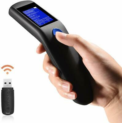 Trohestar Nuberopa N2 Wireless Barcode Scanner 1D Portable Bar Code Reader Inven